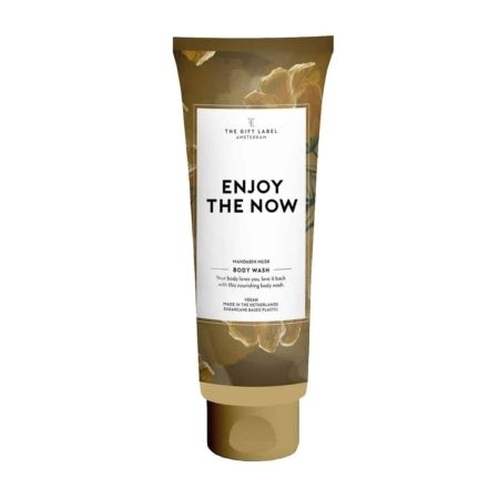 The Gift Label Body wash tube Enjoy the now