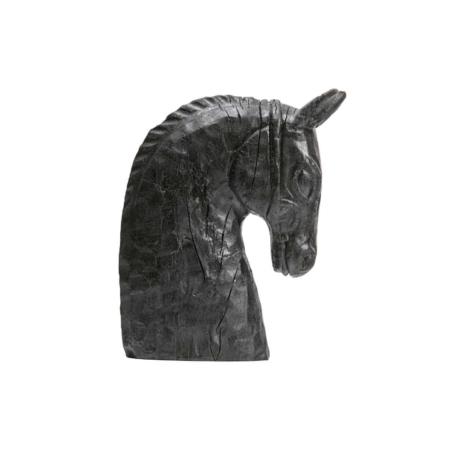 BePureHome Horsepower too deco hout zwart 33cm