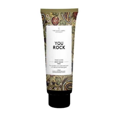 The Gift Label Body wash tube men You rock