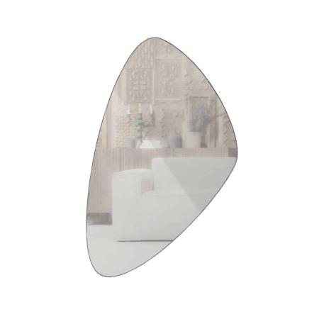 WOOOD Philou spiegel zwart 80x50cm