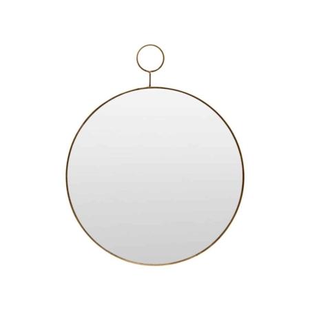 Housedoctor Loop spiegel antique brass 38cm