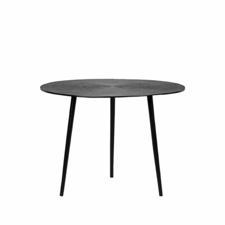 LABEL51 Nobby salontafel metaal zwart ø60cm