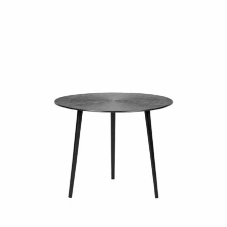 LABEL51 Nobby salontafel metaal zwart ø50cm