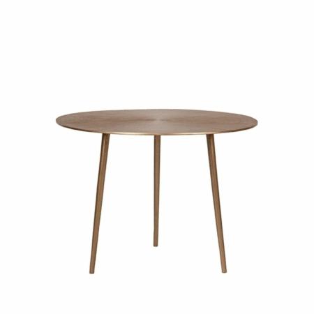 LABEL51 Nobby salontafel metaal antiek goud ø60cm