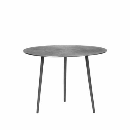 LABEL51 Nobby salontafel metaal antiek ash ø60cm