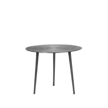 LABEL51 Nobby salontafel metaal antiek ash ø50cm