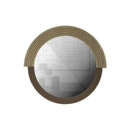WOOOD Hailey spiegel rond naturel 57cm