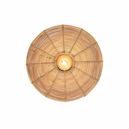 ZES10 Collectie Mataka wandlamp rotan naturel ø51cm