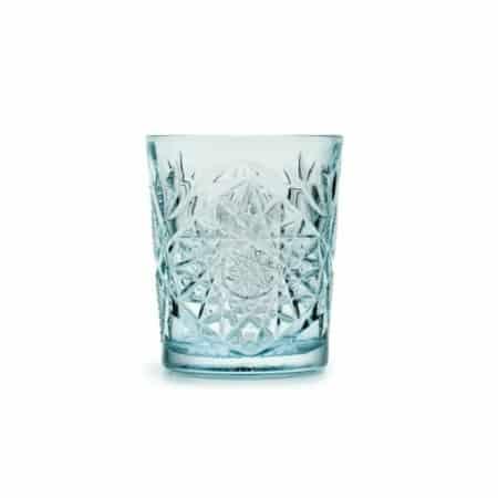 ZES10 Collectie Hobstar drinkglas lichtblauw