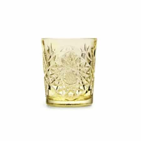 ZES10 Collectie Hobstar drinkglas geel