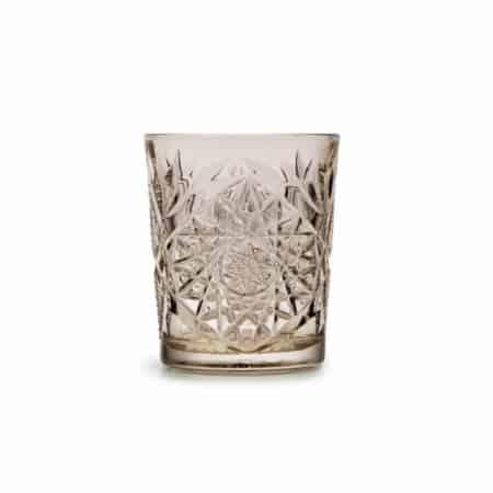 ZES10 Collectie Hobstar drinkglas taupe