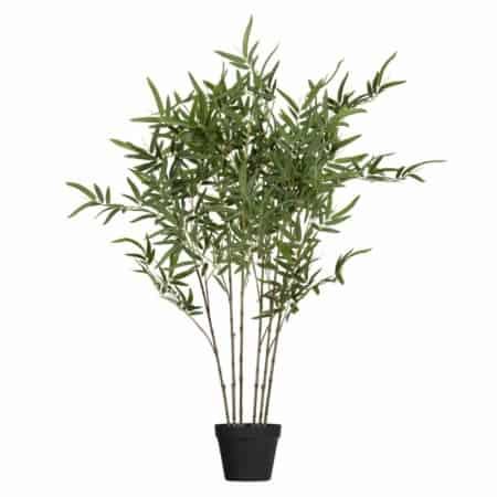 WOOOD Bambusa kunstplant groen 100cm