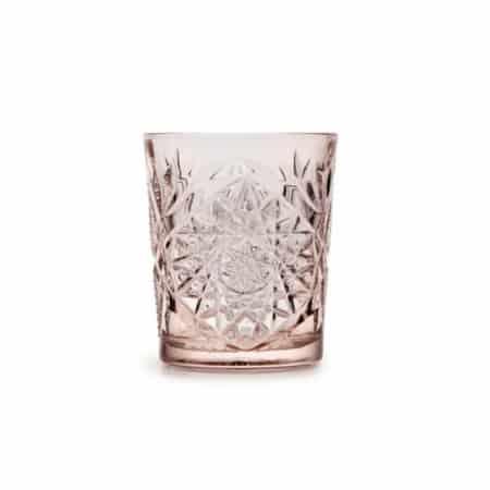 ZES10 Collectie Hobstar drinkglas koraal