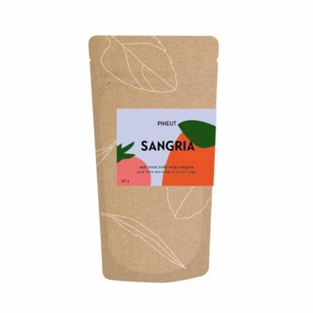 Pineut Sangria rood gift bag