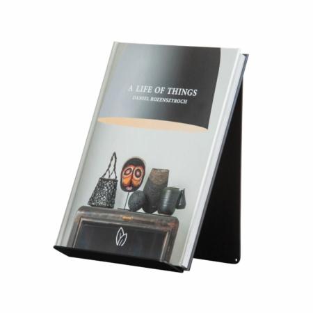 WOOOD Exclusive Brook boekenstandaard staand metaal zwart