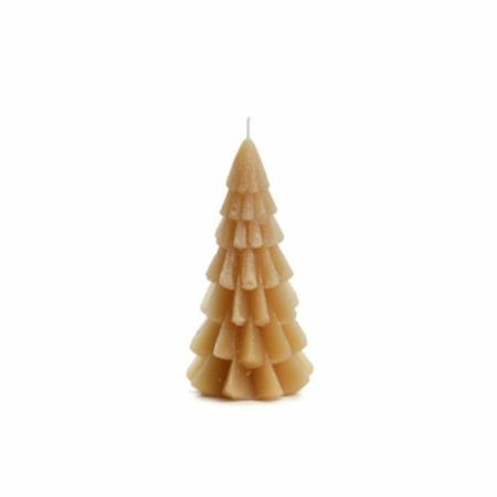 ZES10 Collectie Kerstboom kaars fudge 6,3x12cm