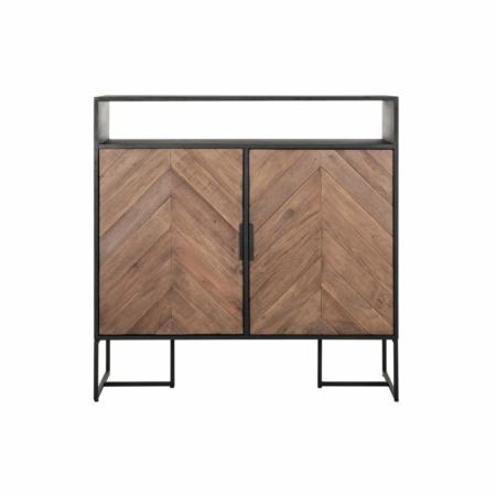 DTP Home Criss Cross dressoir metaal gemixt hout