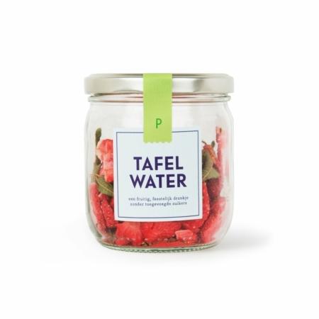 Pineut tafelwater refill aardbei verveine