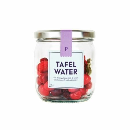 Pineut tafelwater refill cranberry kers rozemarijn